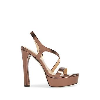 Imagine Vince Camuto Womens Piera Leather Open Toe Ankle Strap Classic Pumps