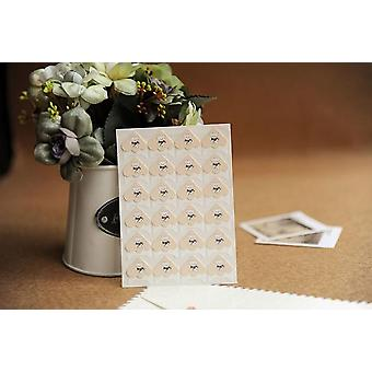 Cartoon Animals Corner, Cute Paper Stickers For Photo Albums