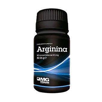 Arginine 90 tablets of 915mg
