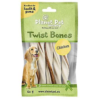 Planet Pet Snack Rollito Dental Sabor a Pollo (Dogs , Treats , Chewy and Softer Treats)