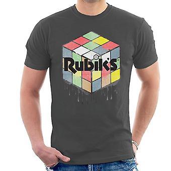 Rubik's Urban Cube T-shirt voor mannen