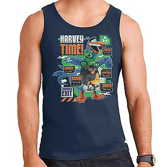 Angry Birds Harvey Time Men-apos;s Vest