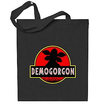 Demogorgon Jurassic Park Stranger Things Totebag