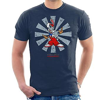 Who Framed Roger Rabbit Retro Japanese Men's T-paita