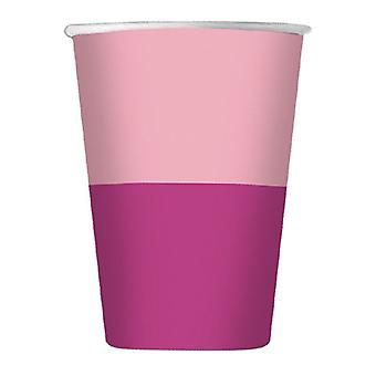 Double Rose 200cc Paper Party Cups