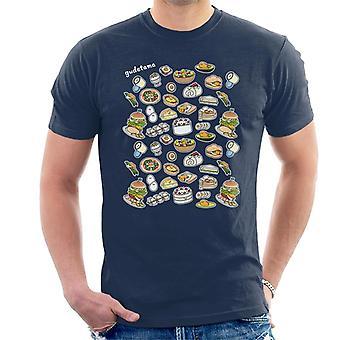Gudetama Food Montage Men's T-Shirt