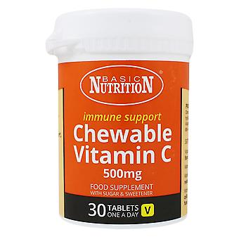 1 x 30 Comprimate Nutriție Chewable Vitamina C Supliment alimentar Imun Suport