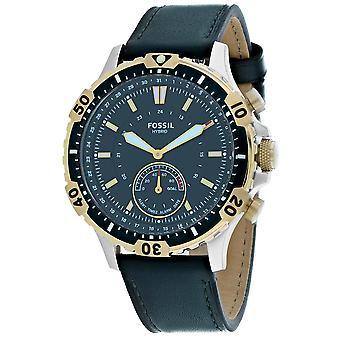 155, Hombres Fósiles 's FTW1193 Reloj Negro de Cuarzo