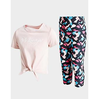 New McKenzie Girls' Leah T-Shirt/Leggings Set Pink