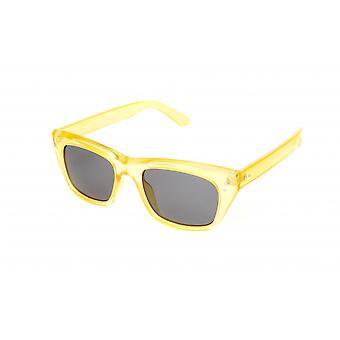 Sonnenbrille Unisex    gelb/grau/transparent