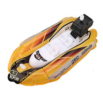 Mini Inflatable Yacht Boat- Children's Bath Pool Toys Motorboats Inflators Juguetes Brinquedos