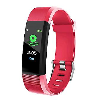 115 Plus Smart Rannekekello, Fitness Tracker, Verenpaine Syke