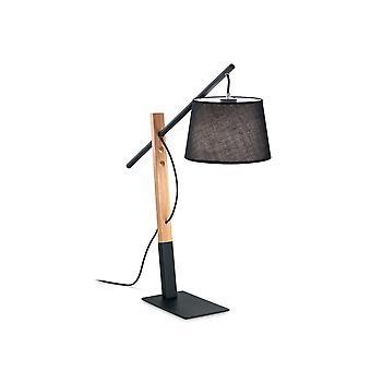 Ideal Lux EMINENT - Innentischlampe 1 Light Black, E27