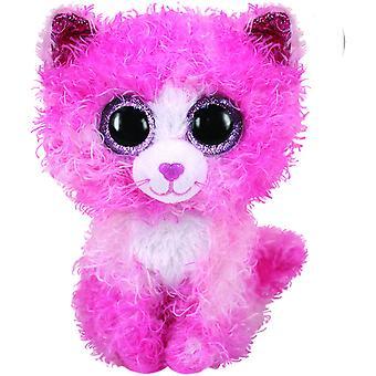 TY Boo Med - Reagan Pink Cat