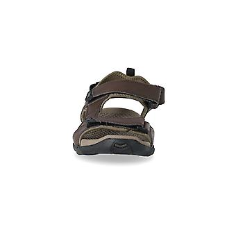 Trespass Mens Barkon Leather Sports Sandals