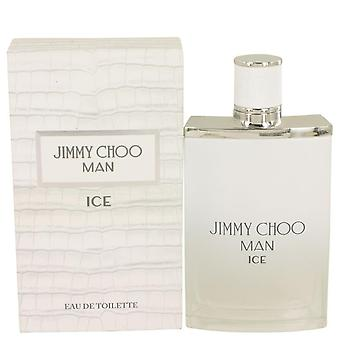 Jimmy Choo Ice Eau De Toilette Spray By Jimmy Choo 3.4 oz Eau De Toilette Spray