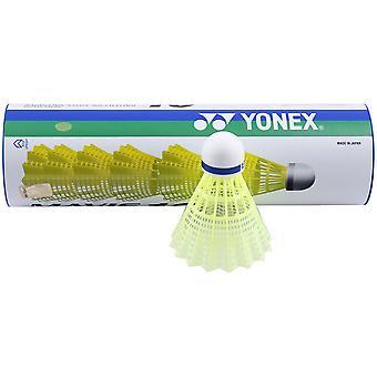 Yonex Mavis 10 Badminton Shuttlecocks - Tube de 6 - Jaune