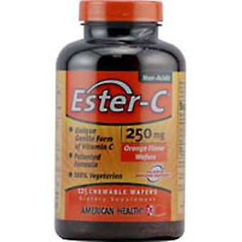 American Health Ester-c, 250 mg, 125 Vegetarian Chewable Wafers