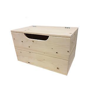 Wood4you - Spielzeugbox Kick Feuer 90Lx50Hx50D cm