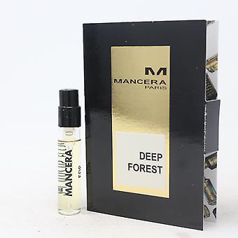 Deep Forest door Mancera Eau De Parfum Vial 0.07oz/7ml Spray Nieuw