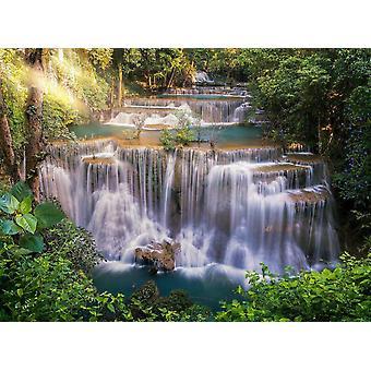 Tapetti Mural Huay Mae Khamin Waterfall