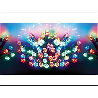Premier Decorations Battery  LED Lights x 200 Multi LB112384M