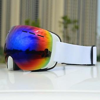Uv400 Double Layers, Anti-fog, Big Ski Mask Glasses Protection, Hiver