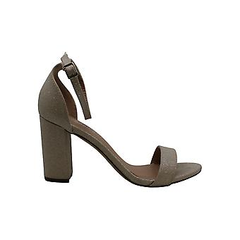 Madden Girl Women's Shoes Beela Peep Toe Casual Ankle Strap Sandals