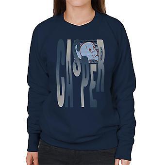 Casper The Friendly Ghost Spooky Waves Women's Sweatshirt