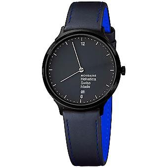 Mon helvetica light ny edition watch for Swiss Quartz Analog Men with cowhide bracelet MH1. L2222.LB