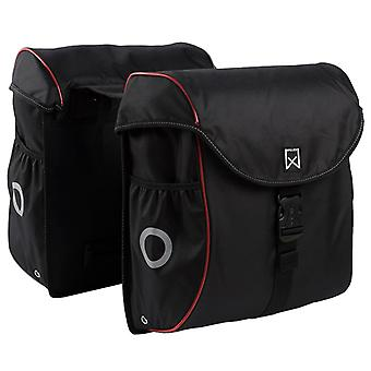 Willex Bicycle Bags 38 L Black and Red 16105