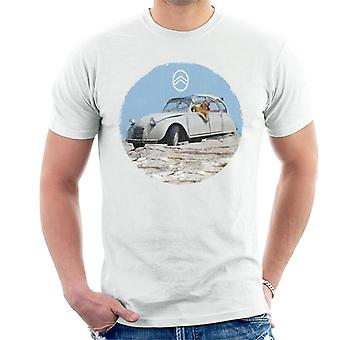 Citro�n 2CV Vintage Photo Men's T-Shirt