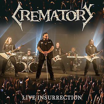 Crematory - Live Insurrection [CD] USA import