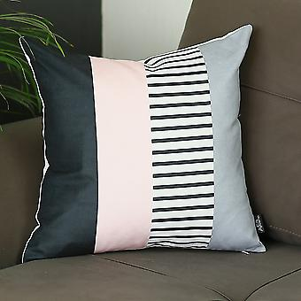 Scandi Patterns Printed Decorative Throw Pillow Cover.