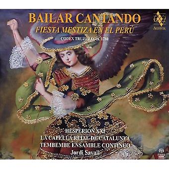 Jordi Savall - Bailar Cantando - Fiesta Mestiza En El Peru [SACD] USA import