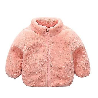 Baby Faux Fur Coat - Winter Long Sleeve Christmas Jacket Outerwear Clothing