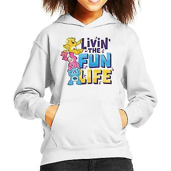Gli orsi della cura sbloccano la felpa con cappuccio di Magic Livin The Fun Life Kid