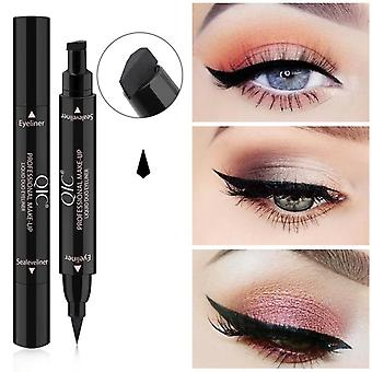 Double Head Eyeliner - Waterproof, Long Lasting And Quick Dry