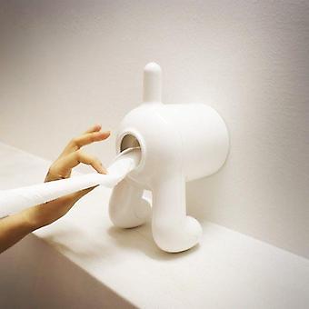Suporte de papel higiênico de bumbum de cachorro