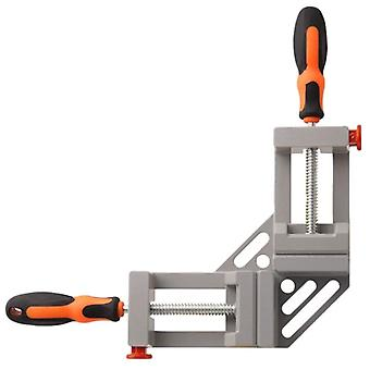 90-degree, Double-handle Corner Clamp For Welding, Wood-working, Photo Framing