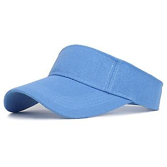 Tennis Lippikset Sun Sports Visiiri Hattu Naiset Running Beach Baseball Caps