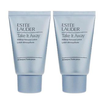Estee Lauder Take It Away Makeup Remover Lotion 1.0Oz/30ml New (Pack Of 2)