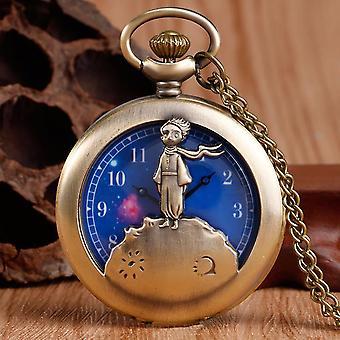 Christmas Pockets Watch Jack Tim Burton Kid Pendant Necklace Clock Women