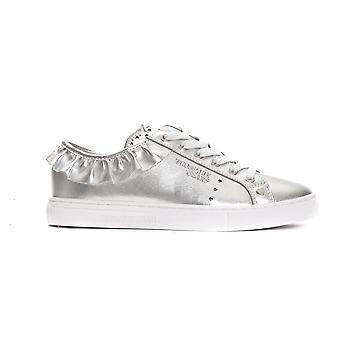 Trussardi Jeans Argento Frill Silver Sneakers