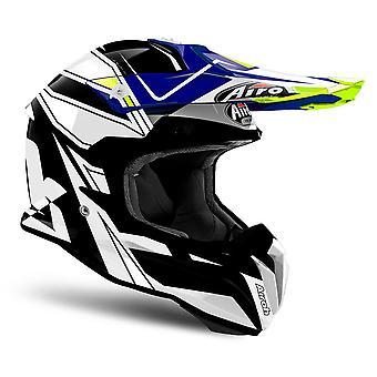 Airoh Terminator Open Vision for Motorcycle Helmet Peak Shock Blue PEAK ONLY