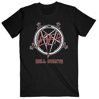 Slayer Hell Awaits Tour Official Tee T-Shirt Mens Unisex
