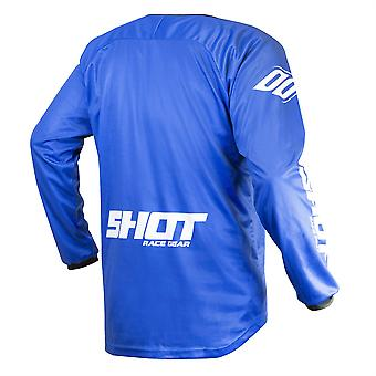 2020 Shot Devo MX Jersey Adult - Raw Blue