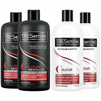 TRESemme Colour Revitalise Pack of 2 Shampoo and Pack of 2 Conditioner , 900ml