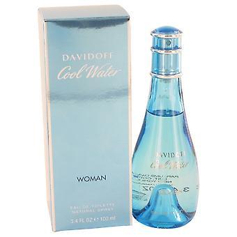 COOL WATER by Davidoff Eau De Toilette Spray 3.4 oz / 100 ml (Women)