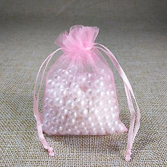 Drawstring Organza Bags, Jewelry Packaging Bag, Wedding Party